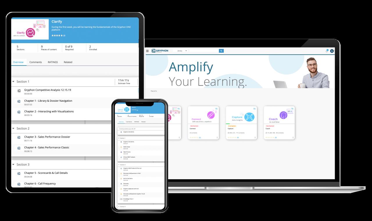 Gryphon Networks Integrates Learning System into Platform